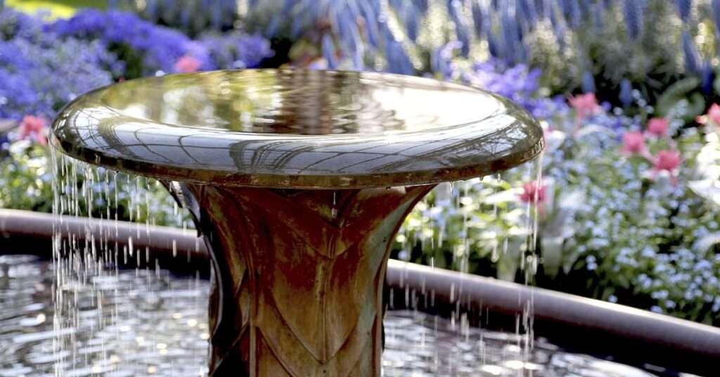 How To Keep A Garden Fountain